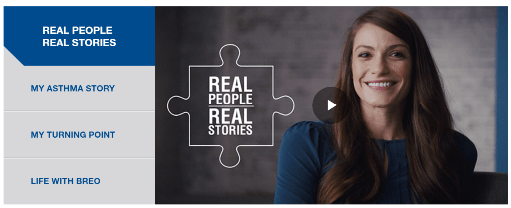 video chapters for pharam marketing and storytelling